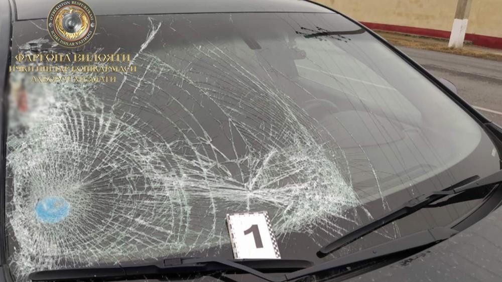 Автомобиль Malibu сбил велосипедиста в Ферганской области