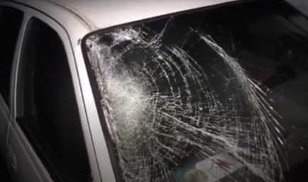В Самаркандской области Nexia сбила пешехода — видео