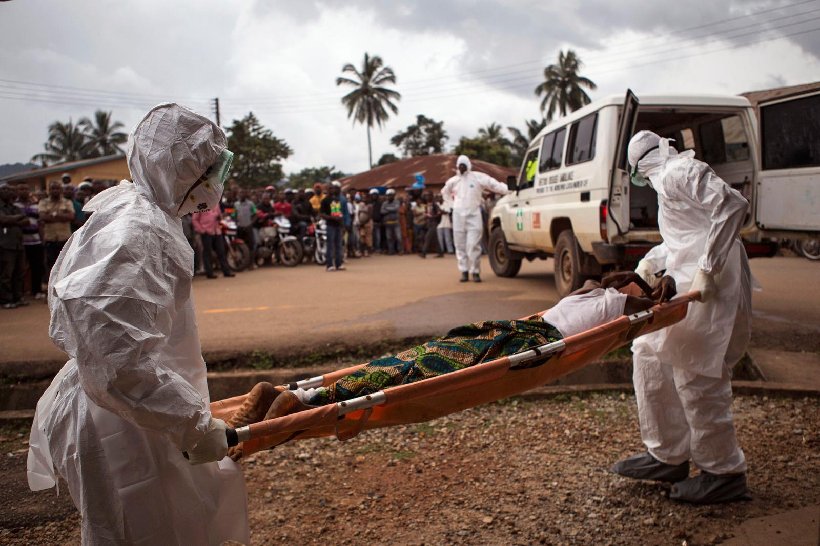 Вирус Эбола зафиксирован в двух африканских странах