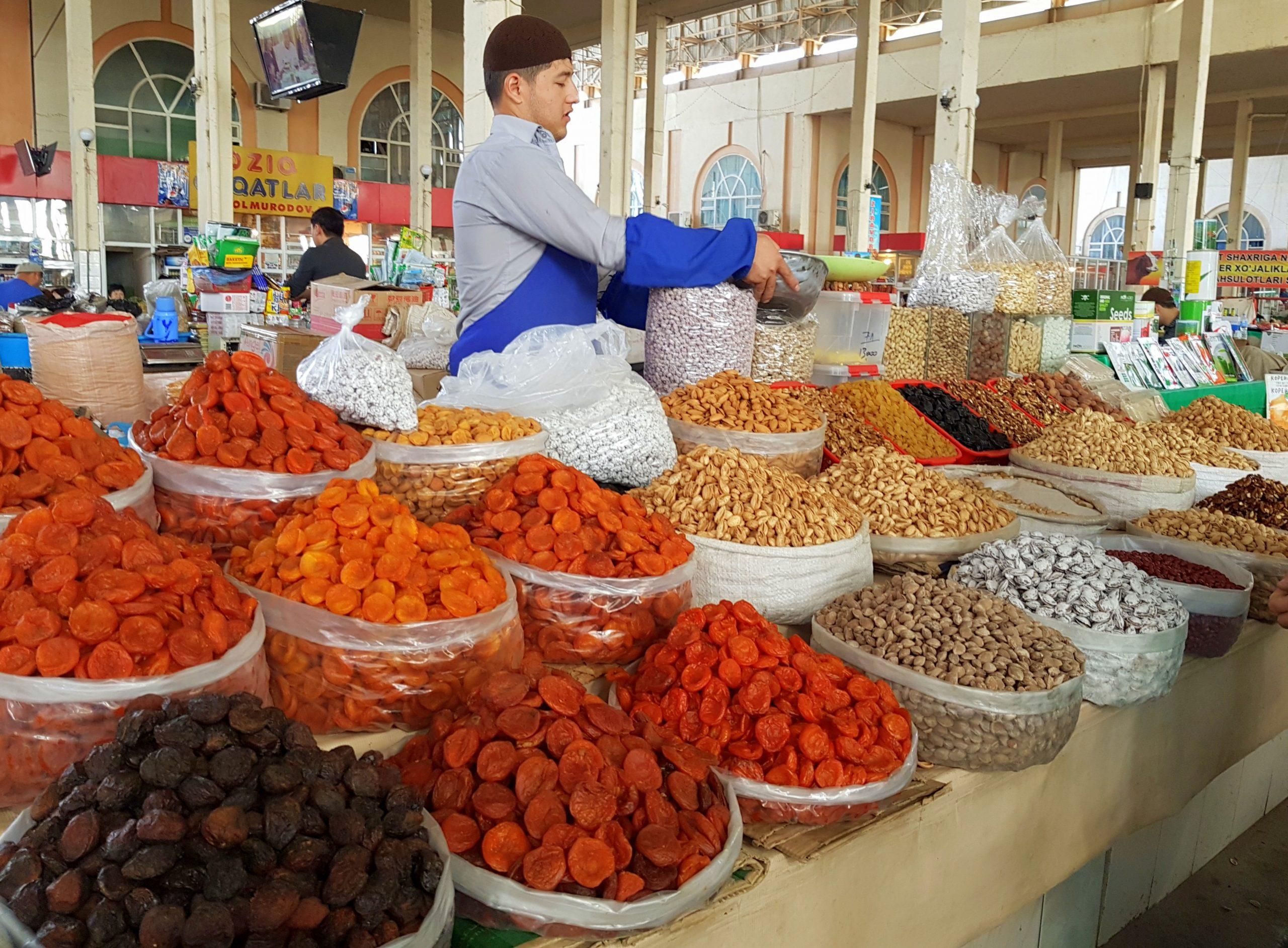 Стали известны цены на продукты питания в Узбекистане