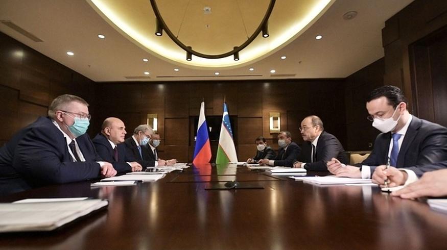 Премьер-министры Узбекистана и России обговорили госвизит Шавката Мирзиёева в Москву