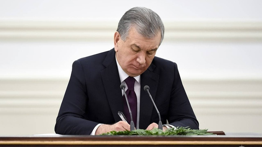 Президент утвердил главные направления развития Узбекистана на этот год