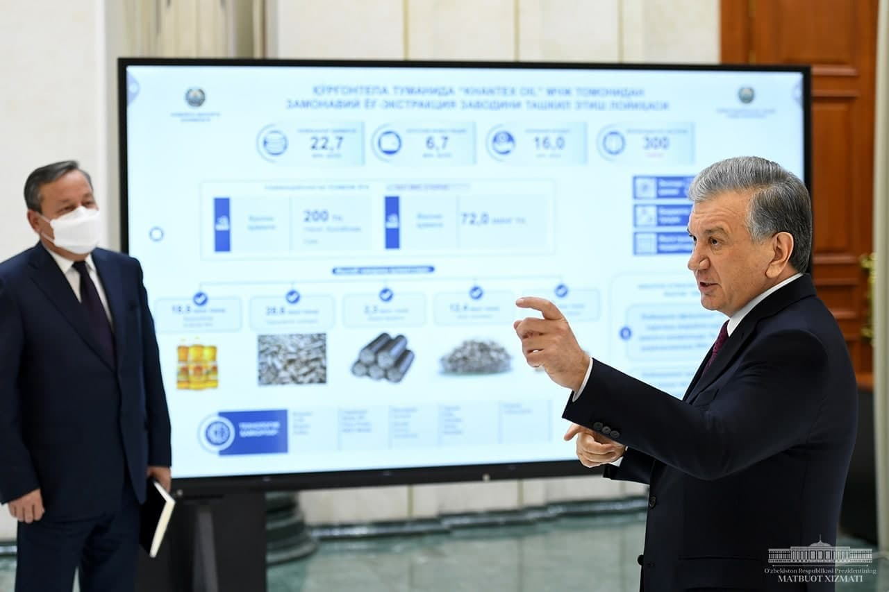 В Андижанской и Ташкентской областях реализуют более 800 новых проектов