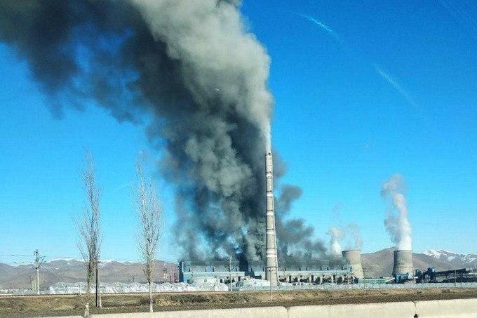 В Минэнерго прокомментировали пожар на Новой Ангренской ТЭС — видео