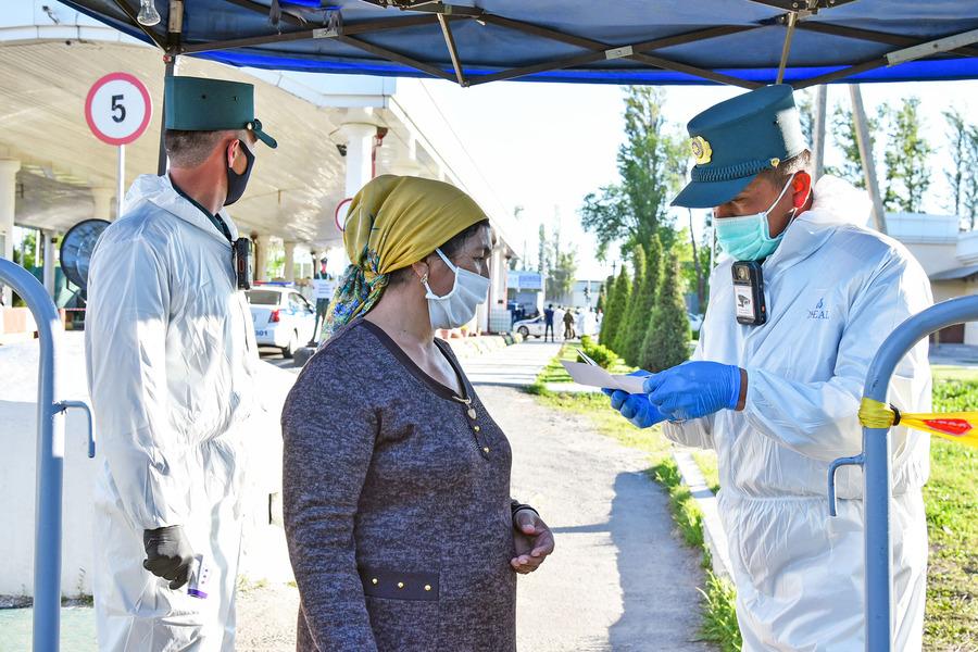 В Узбекистане количество зараженных COVID-19 достигло почти 80 тысяч человек