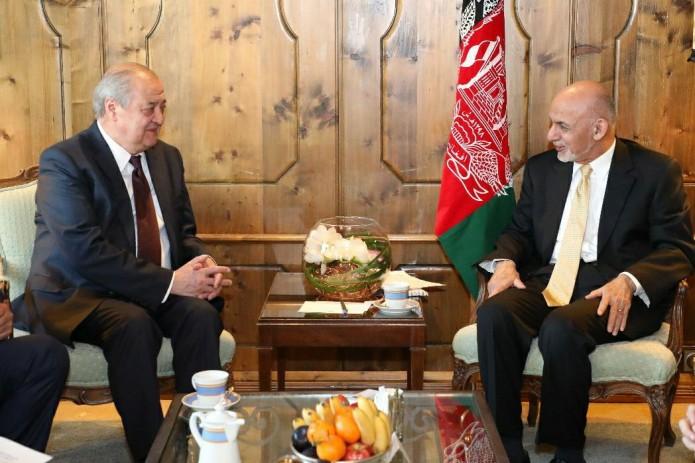 Абдулазиз Камилов встретился с президентом Афганистана