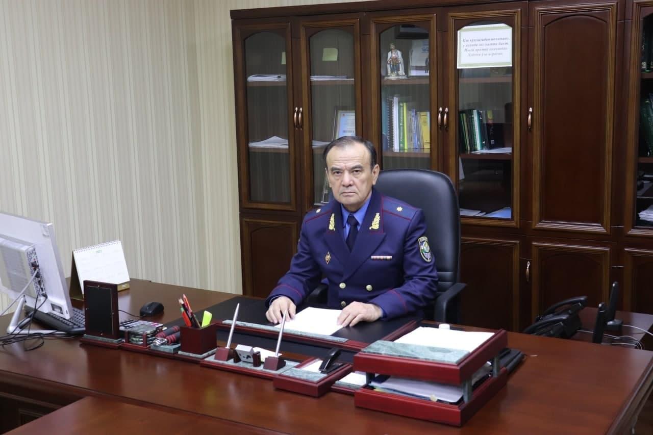 В Ташкенте сменился начальник Управления по чрезвычайным ситуациям