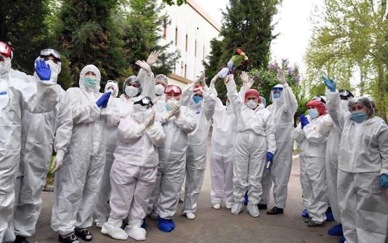 Последний центр для больных COVID-19 в Самарканде закрылся