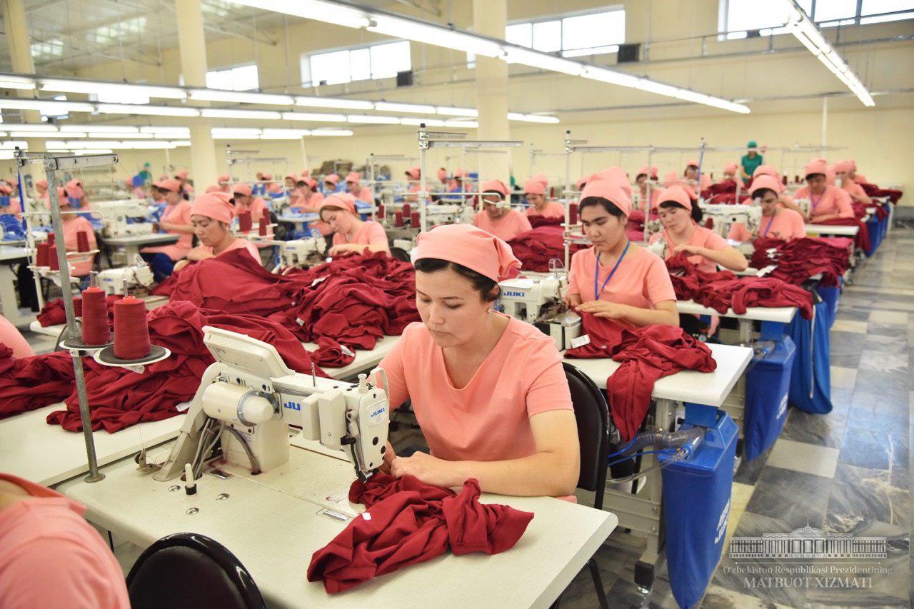 Стало известно, на какую сумму Узбекистан экспортировал текстильную продукцию в январе этого года