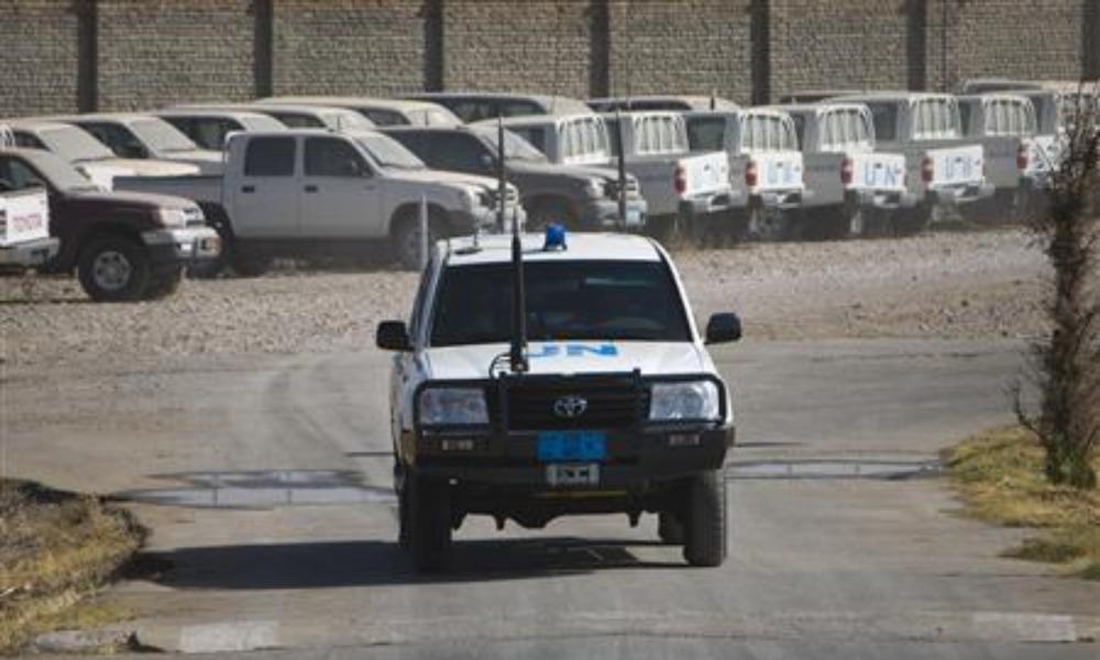 Делегация ООН подверглась нападению в Афганистане