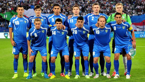 Сборная Узбекистана по футболу обыграла Иорданию