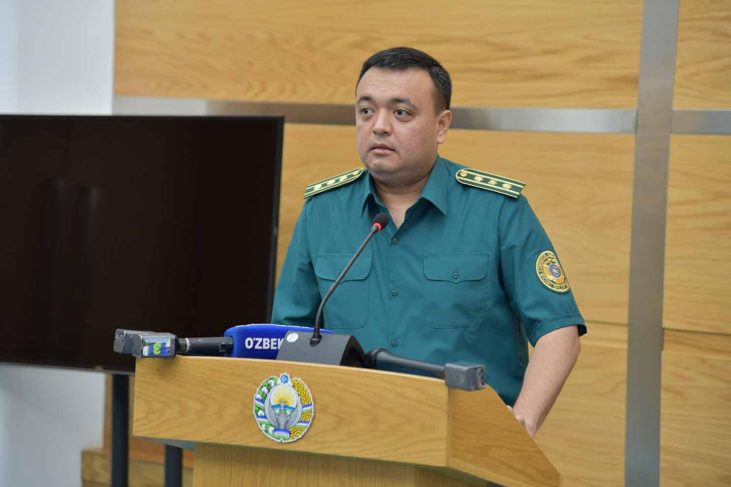 В Алмазарском районе сменился начальник Управления координации деятельности органов внутренних дел