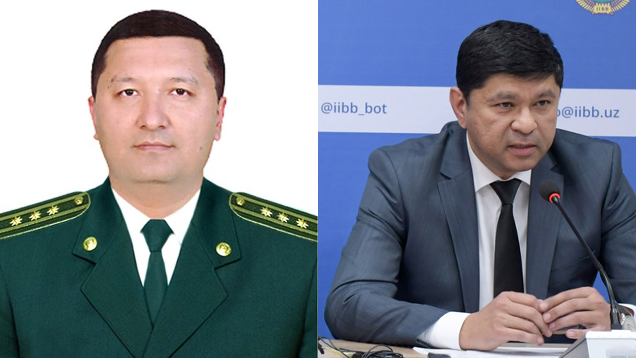 Нажмиддин Тураходжаев и Яхёжон Абдулхаков назначены замглавы МВД