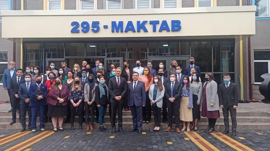 Учителя из США будут преподавать английский язык в школах и вузах Узбекистана
