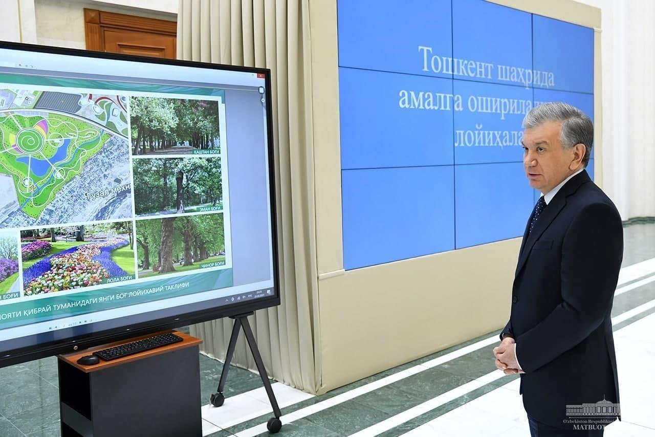 Возле аэродрома в Ташобласти построят парк площадью 155 гектаров