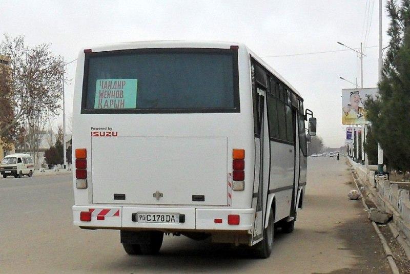 Автобус протащил по земле застрявшего в дверях жителя Намангана