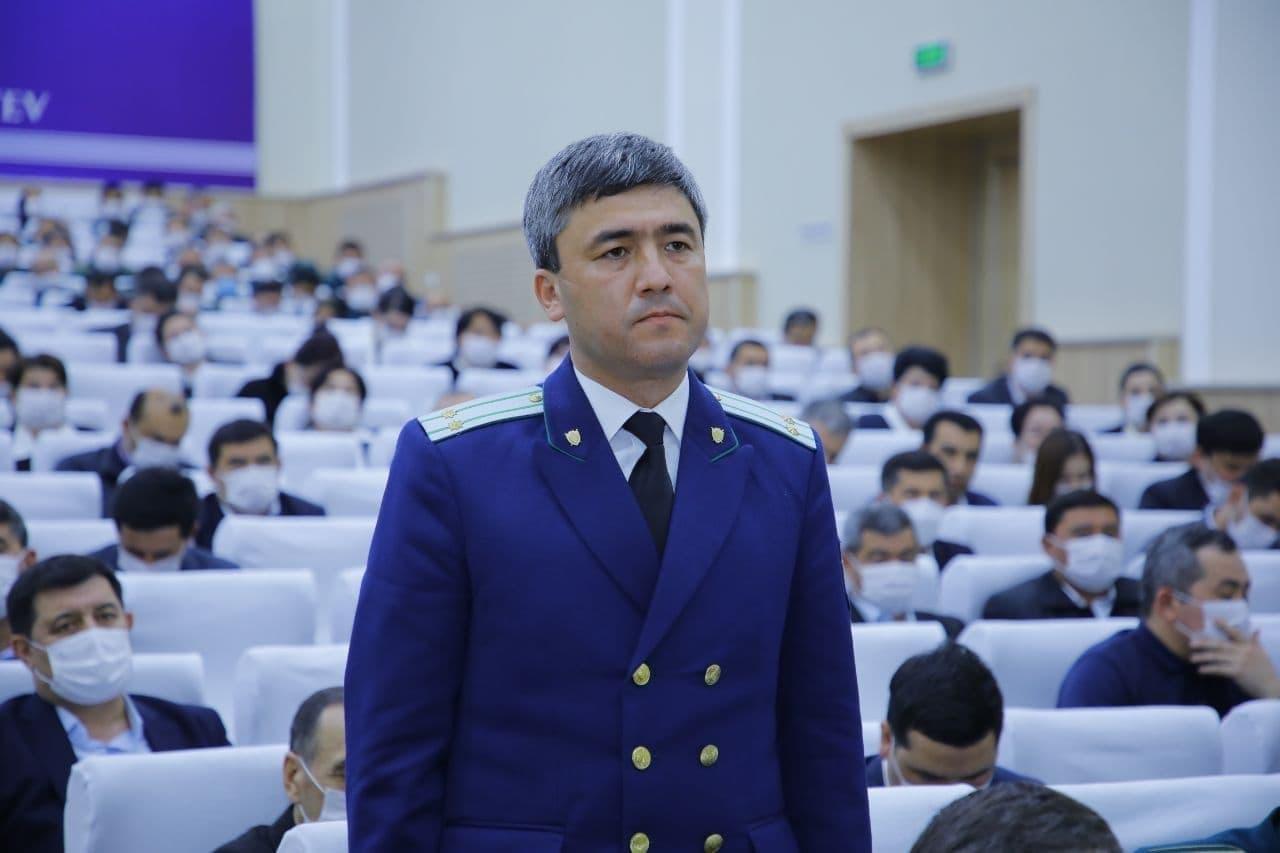 Назначен новый прокурор Намангана