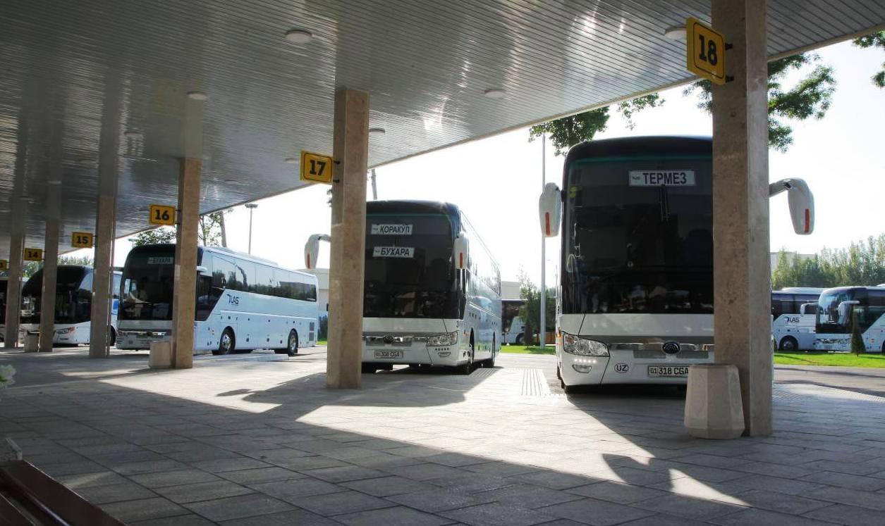 Междугородние автобусные рейсы отменены