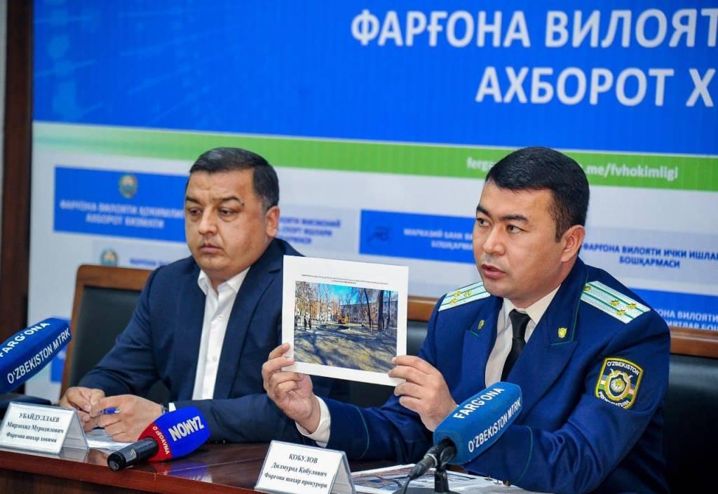 Чиновники в Ферганской области прояснили ситуацию со стройками внутри дворов многоквартирных домов