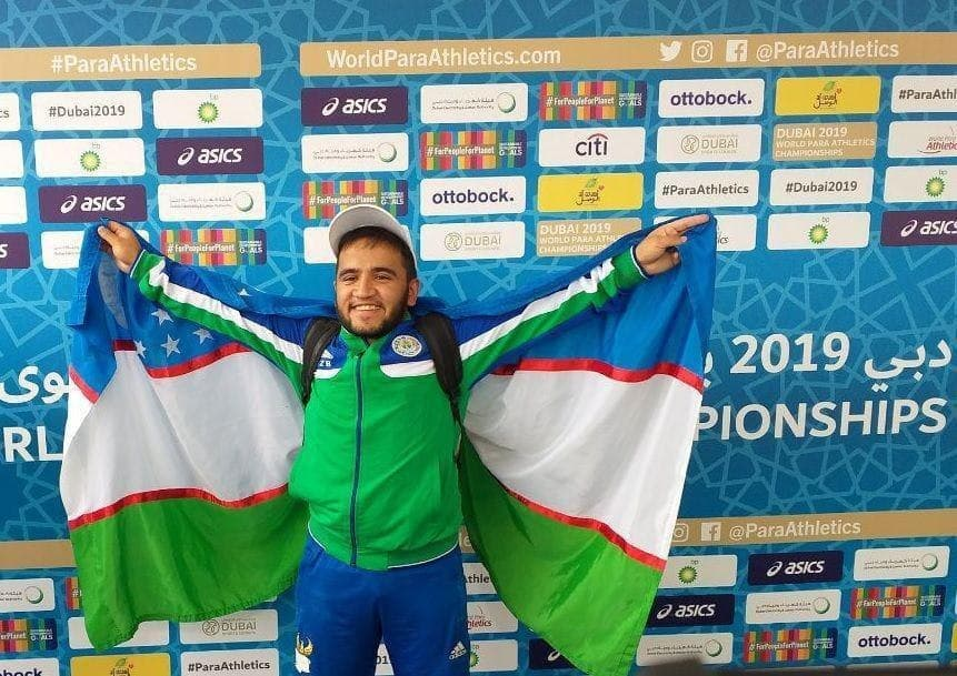 Пара-атлеты из Узбекистана завоевали четыре медали на турнире в Дубае
