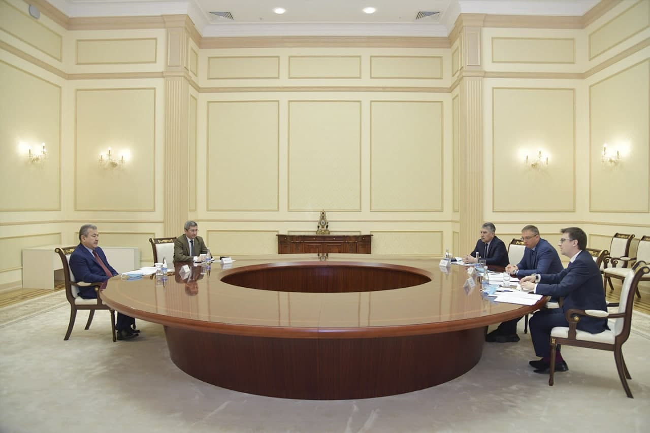 Зампредседателя Сената обсудил с руководством «Узбат А.О.» дальнейшее сотрудничество