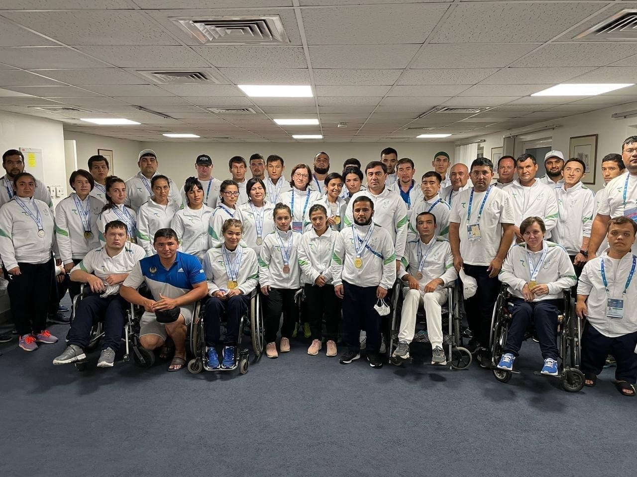 Спортсмены из Узбекистана завоевали 24 медали в Дубае