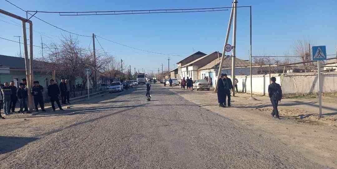В Кашкадарье водитель Nexia сбил шестилетнего мальчика — фото