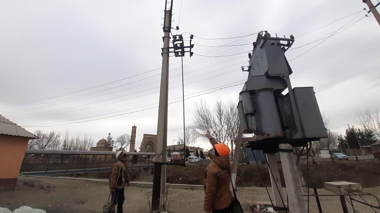 Алмазарский район столицы временно остался без электроэнергии