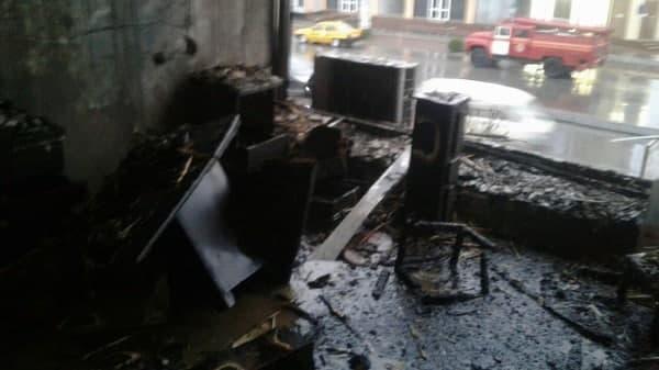 В магазинах Ферганской области произошел пожар