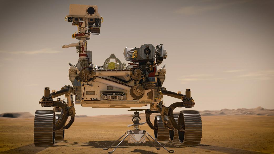Американский марсоход Perseverance совершил посадку на Марс
