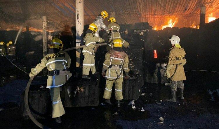 При пожаре в одном из столичных кафе погибли пять человек