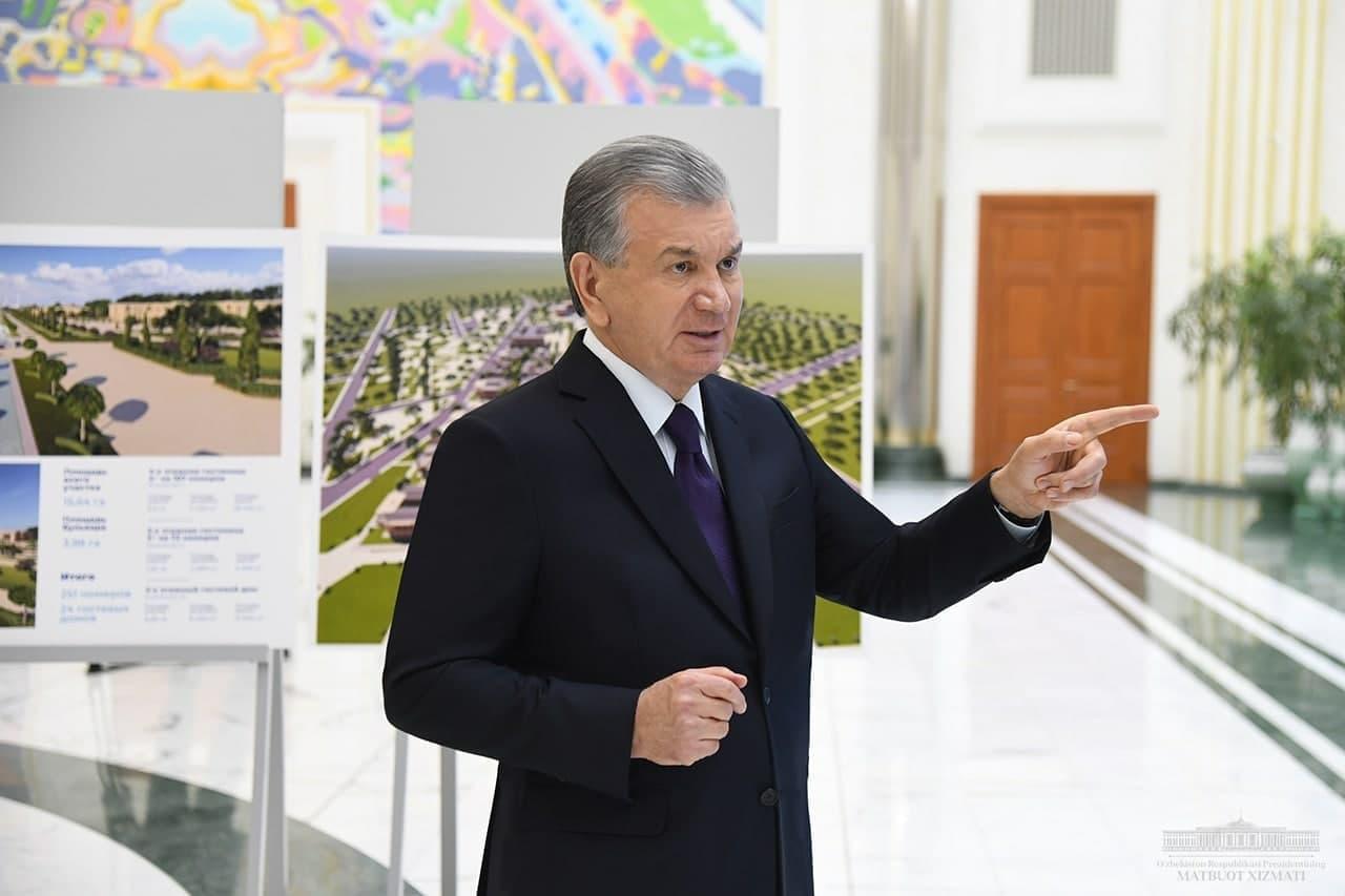 Шавкат Мирзиёев дал поручения по благоустройству Самарканда