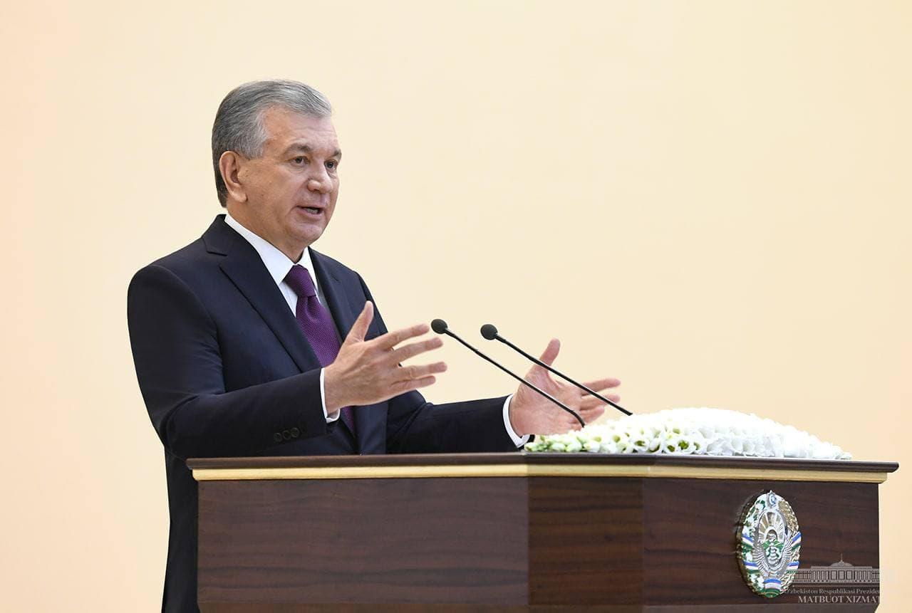 «Это первый за последние тридцать лет случай, когда в Наманган направляется столько средств», — Шавкат Мирзиёев