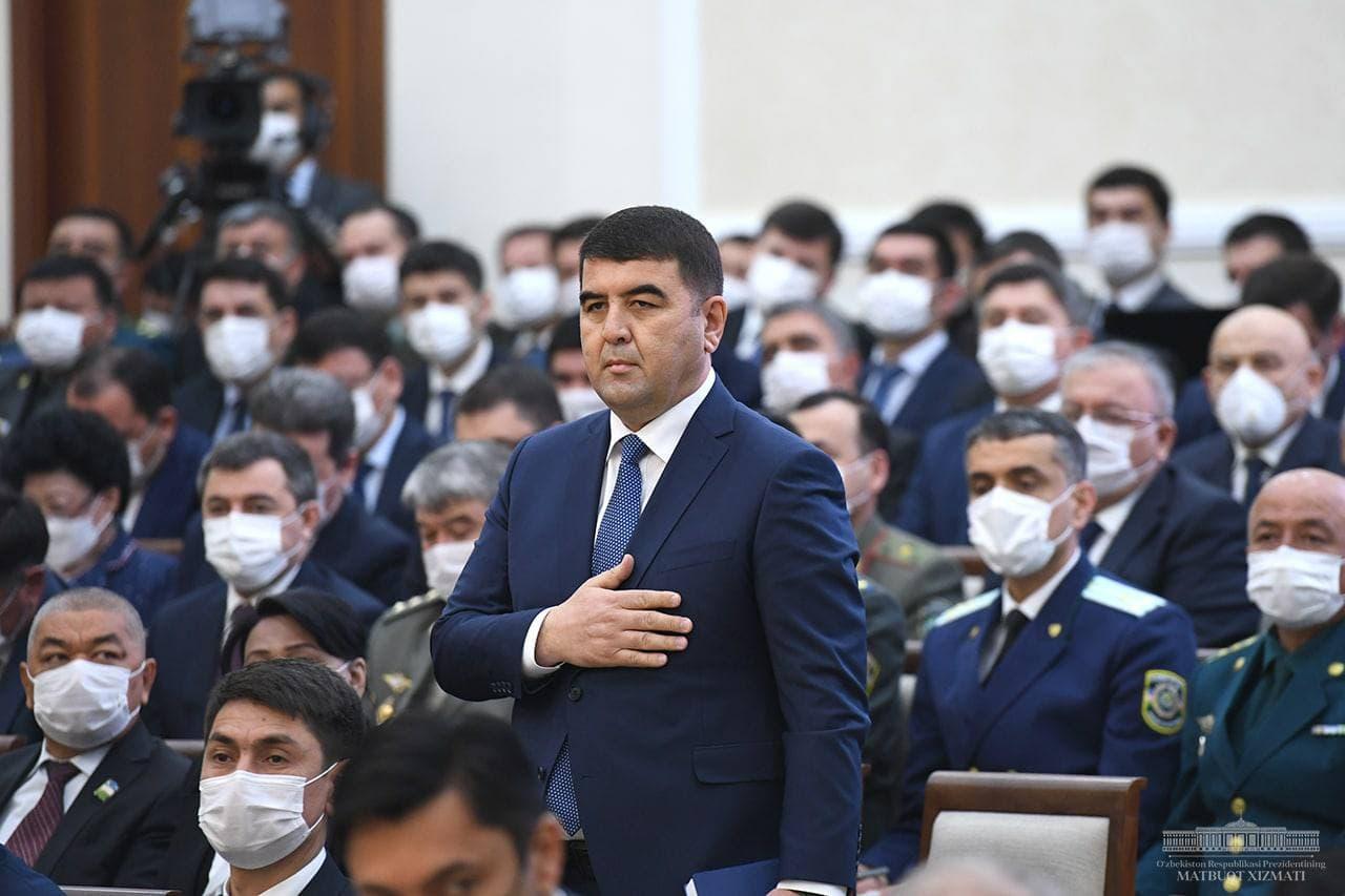 Президент назначил нового хокима Наманганской области