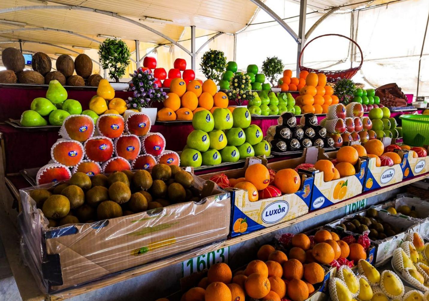 Узбекистан в 2020 году экспортировал овощи и фрукты на 1 миллиард долларов