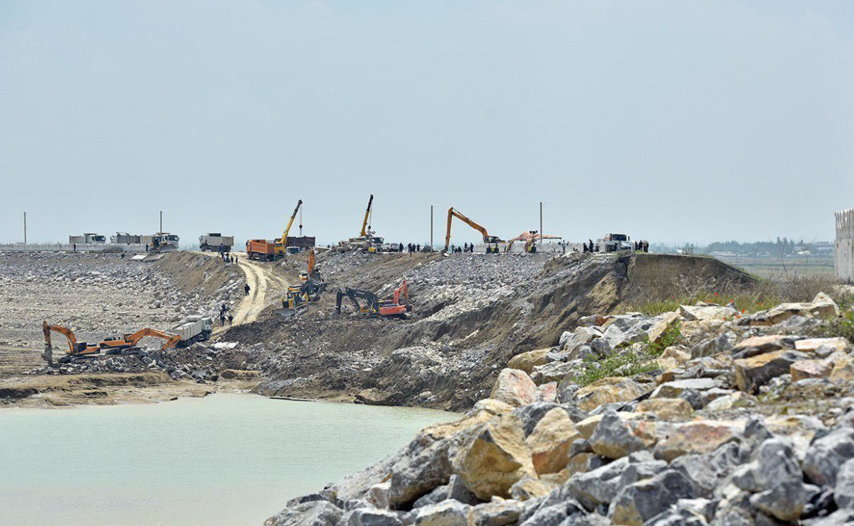 В Сырдарьинской области запустят проект по реконструкции Сардобинского водохранилища