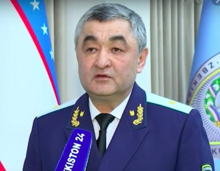 Бахриддин Валиев назначен первым заместителем генпрокурора