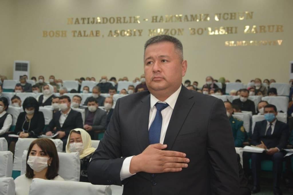 Назначен хоким Язъяванского района Ферганской области