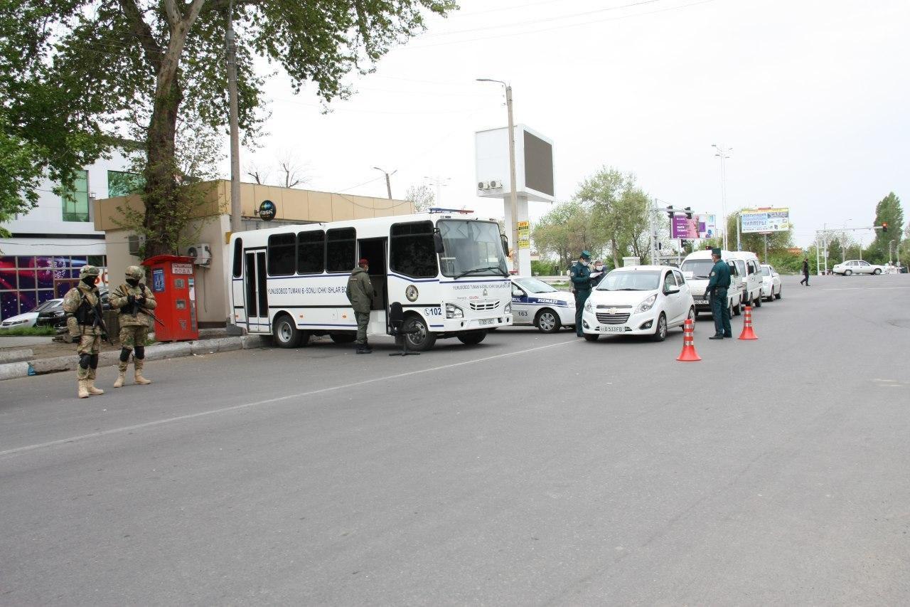 В Ташкенте одна из улиц будет перекрыта