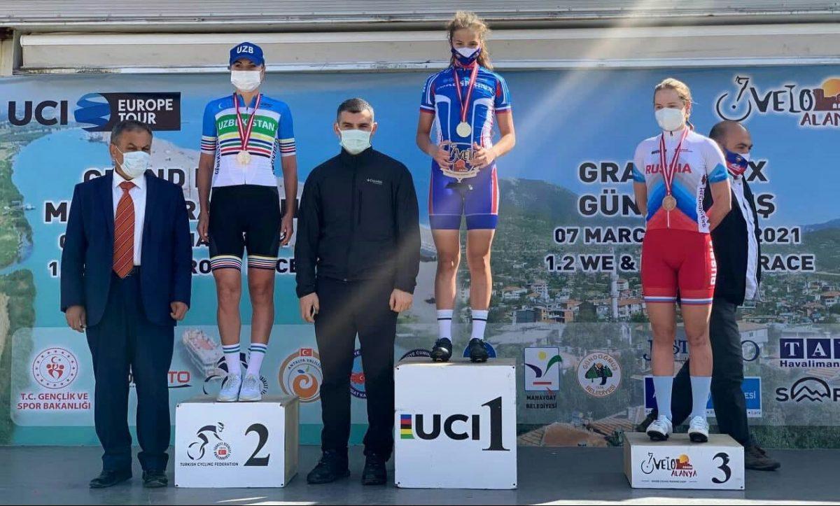 Узбекская велогонщица заняла второе место в международном турнире