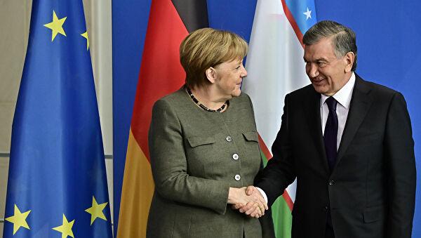 Шавкат Мирзиёев и Ангела Меркель проведут саммит в онлайн формате