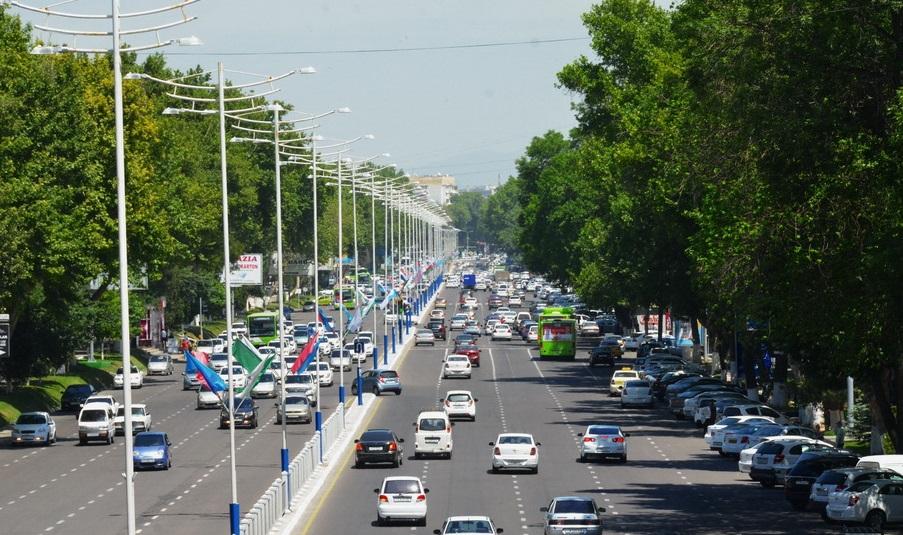 В Ташкенте на месяц перекроют некоторые улицы — карта