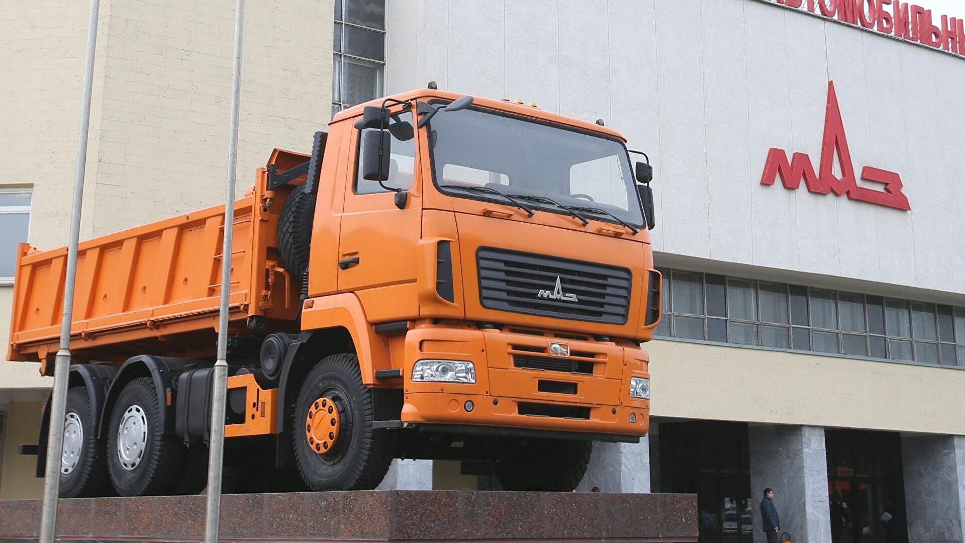 Белорусский МАЗ откроет сборочное производство в Узбекистане