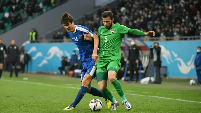 Узбекистан проиграл Ираку в товарищеском футбольном матче