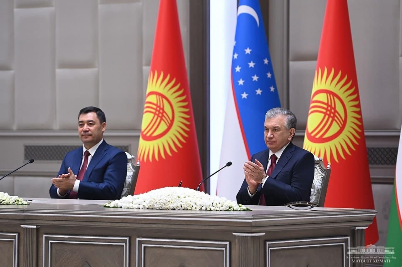 В рамках визита президента Кыргызстана в Узбекистан было подписано 22 документа