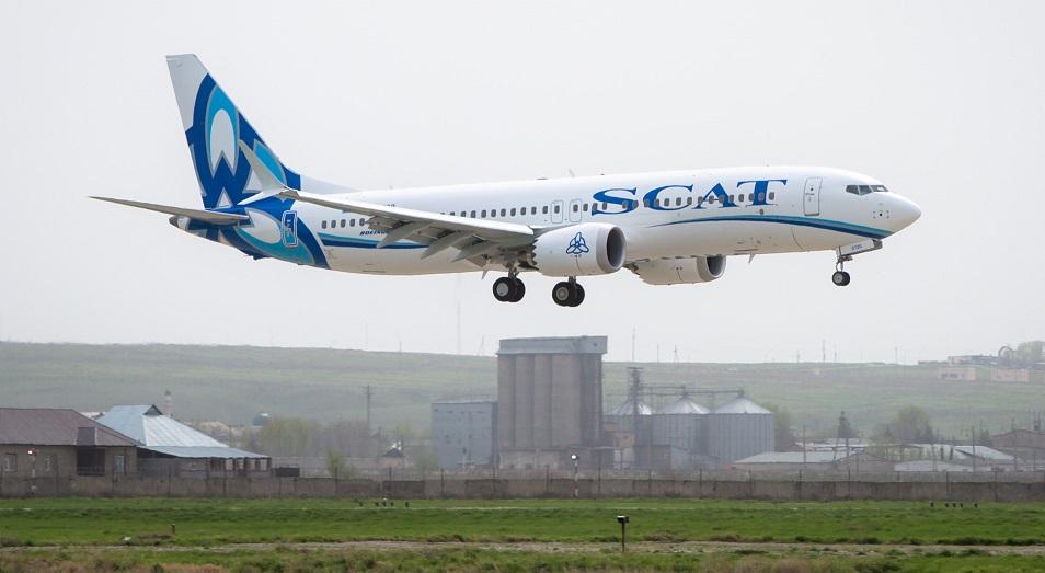 Казахстанская авиакомпания SCAT открывает рейсы между Актау и Ургенчем