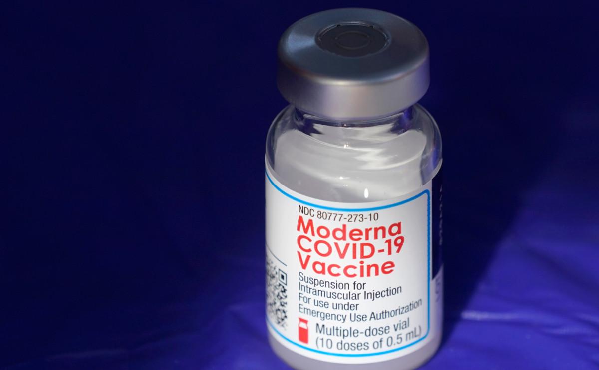 Обнаружены побочные эффекты от вакцины Moderna