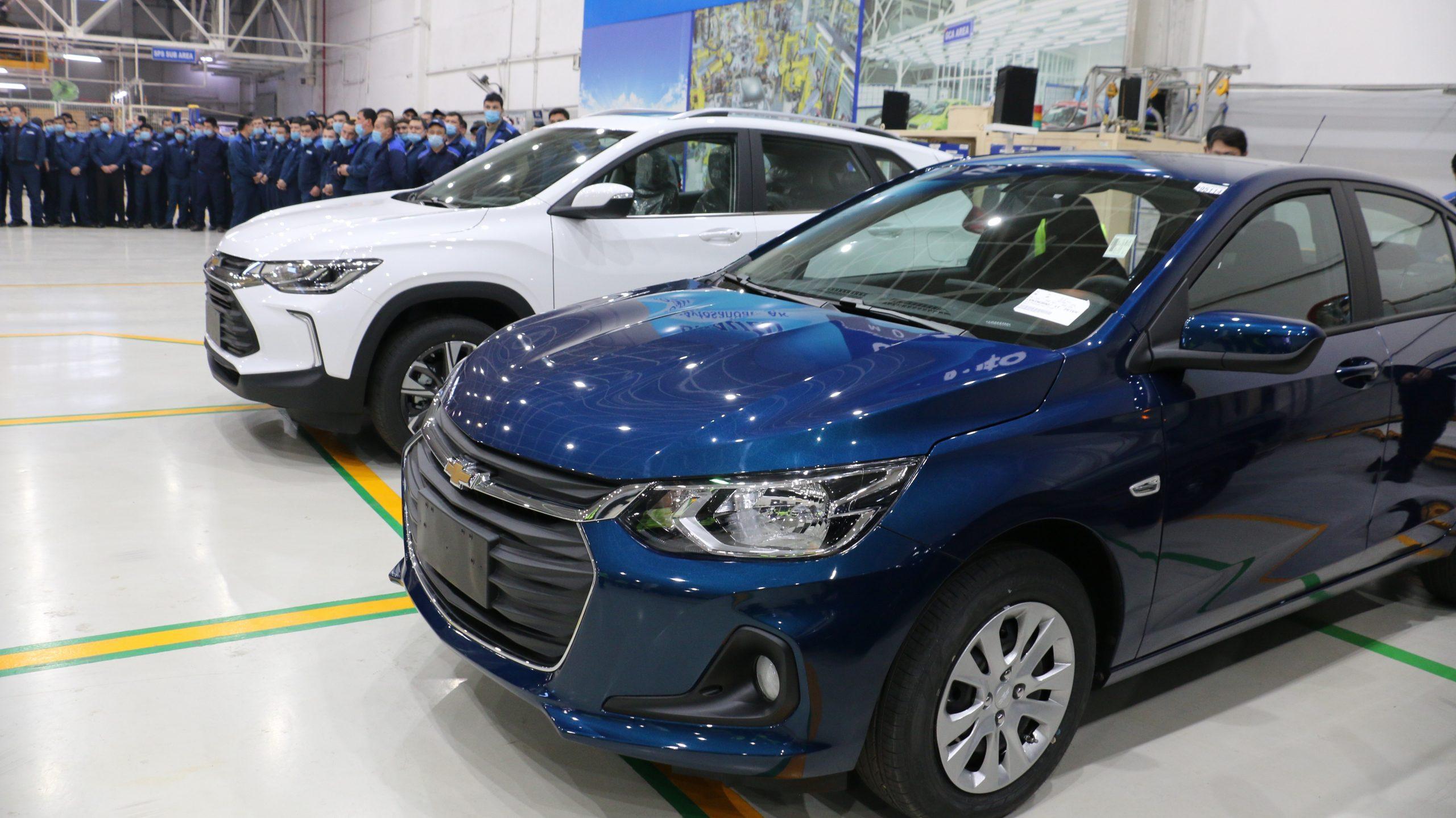 UzАutoMotors представил новые модели автомобилей