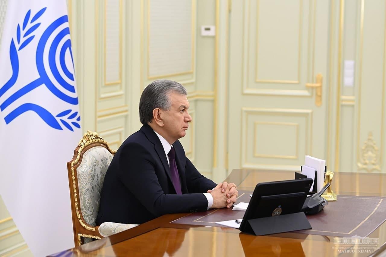 Шавкат Мирзиёев принял участие в работе 14 саммита Организации экономического сотрудничества