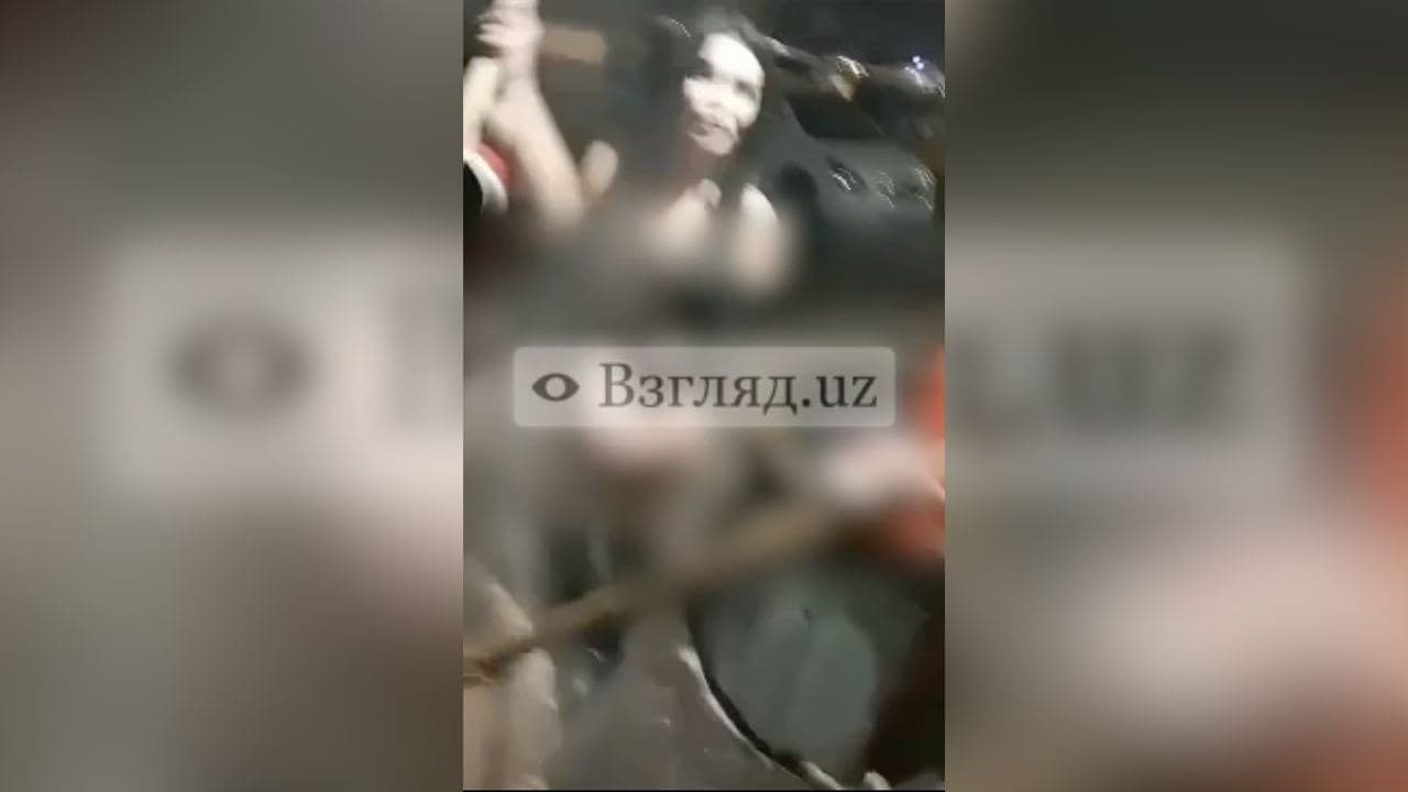 В Ургенче несколько девушек готовили сумаляк в полуобнаженном виде — видео